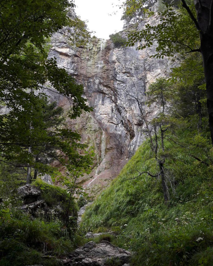 kleiner Wasserfall in den Ötschergräben